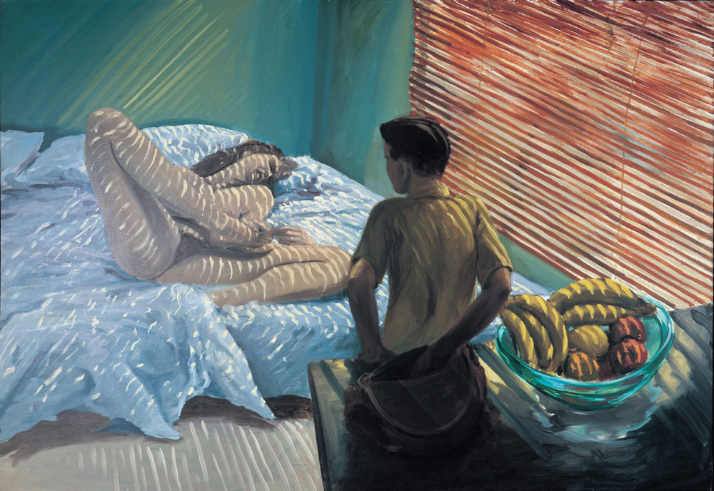 Bad Boy, 1981. Oil on Canvas. 66 x 96 in. (168 x 244 cm.)