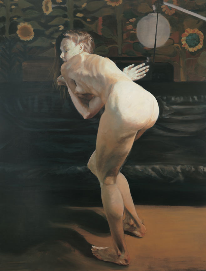 Questionable Pleasure, II, 1994. Oil on linen. 70 x 54 in. (178 x 137 cm.)