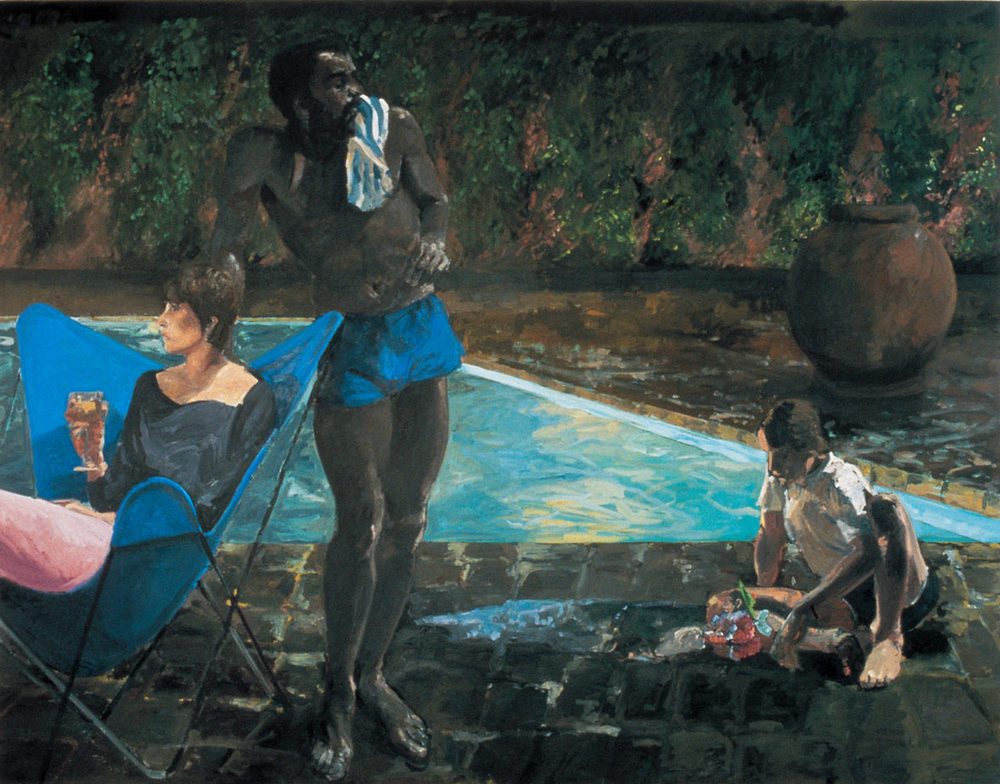 The Brat II, 1984. Oil on Canvas. 84 x 108 in. (213 x 274 cm.)