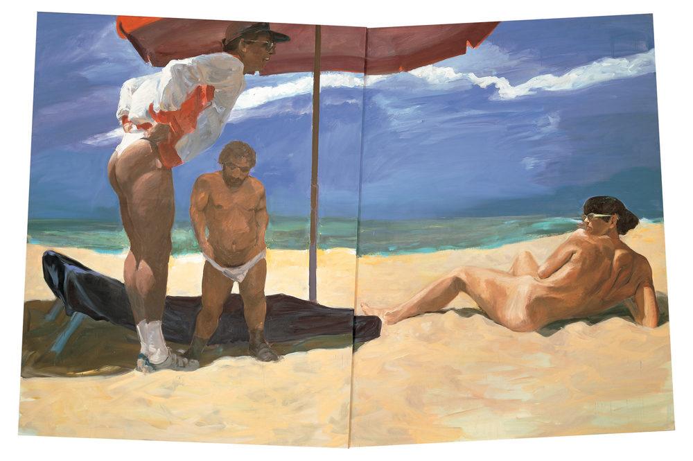 Costa del Sol, 1986.