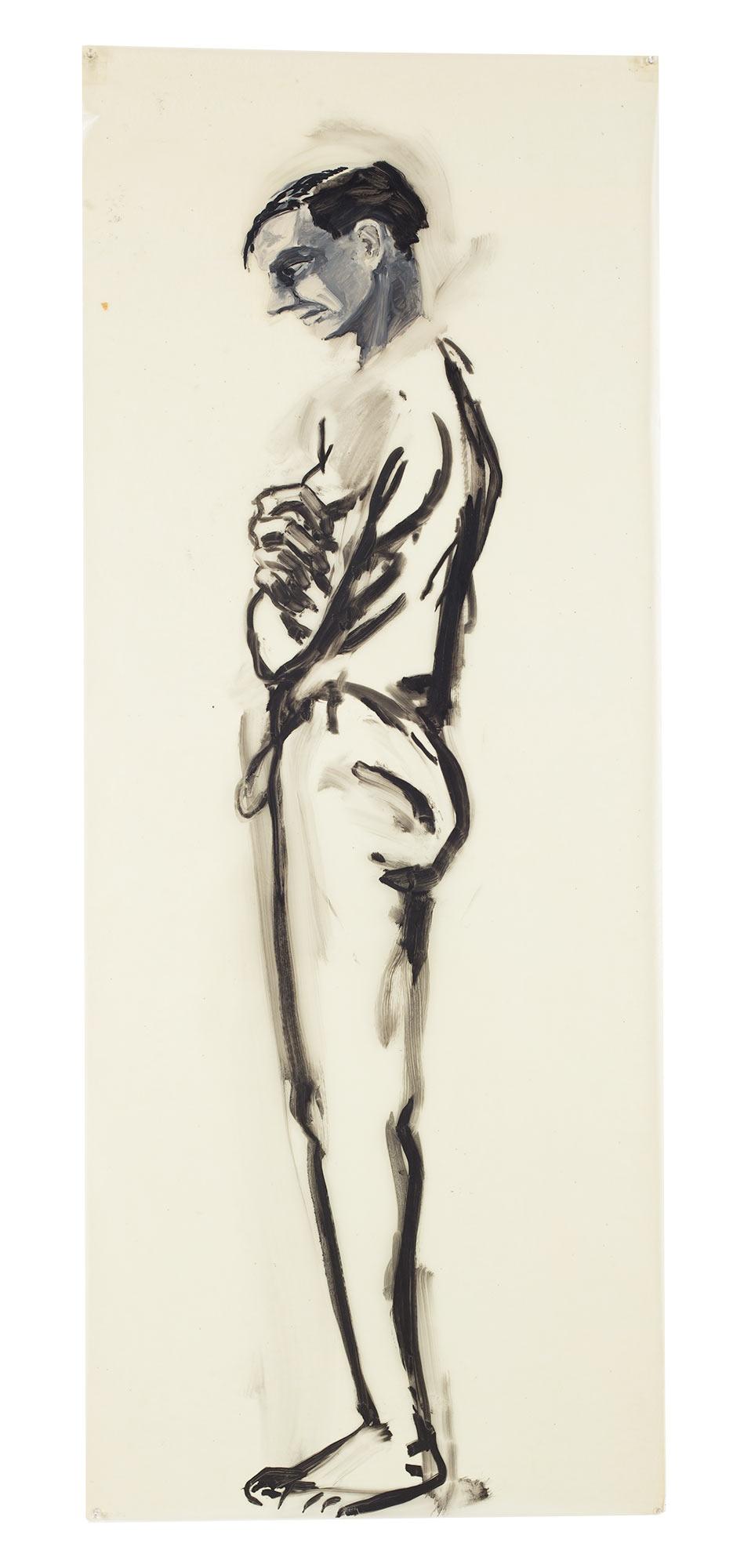 (standing man), 1978.