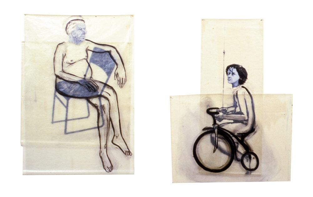 Sitting/Riding, 1978.