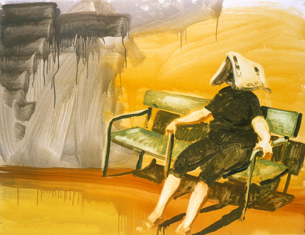 Woman on Bench (Untitled), 1997.