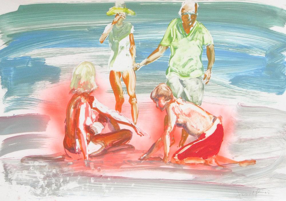 Untitled (4 people), 2008.