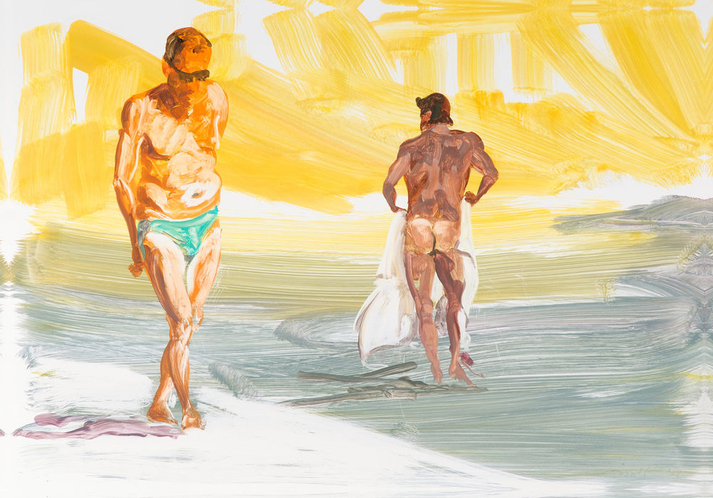 Untitled (Old Boys of Summer) , 2008.