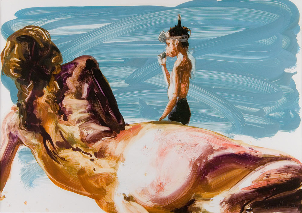 Untitled (Nude Seen From the Back), 2007.