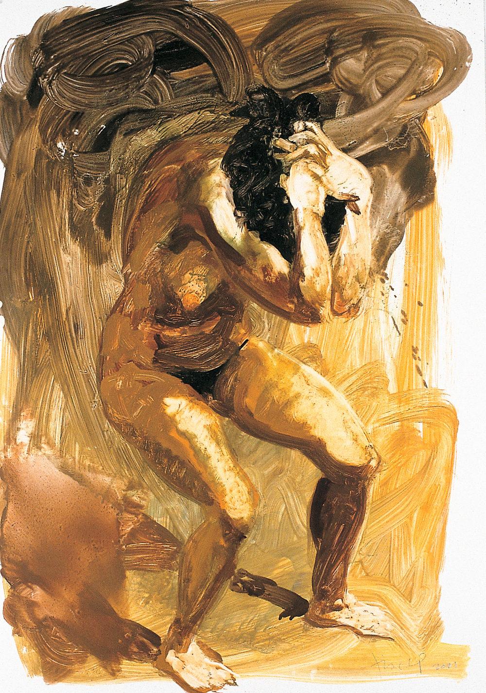 Untitled (Cringing), 2001.