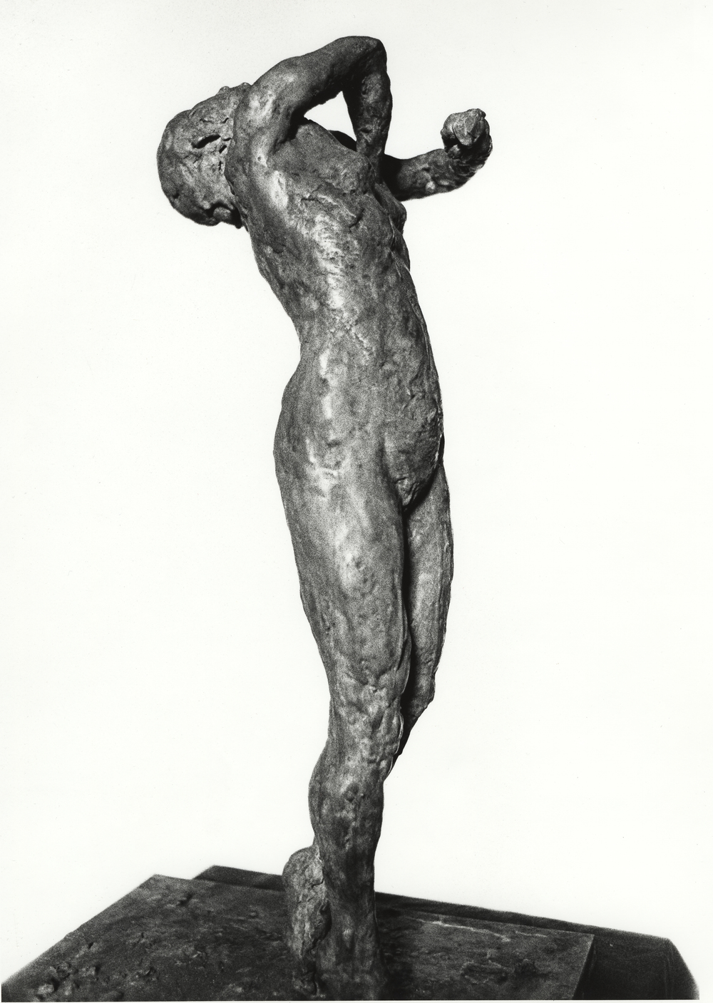 Arching Woman (maquette), 2001.