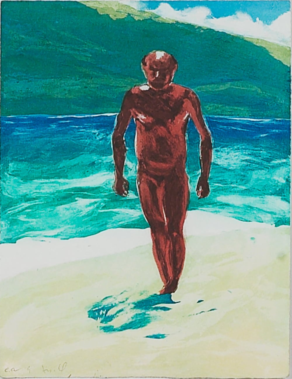 Untitled (Man Walking)