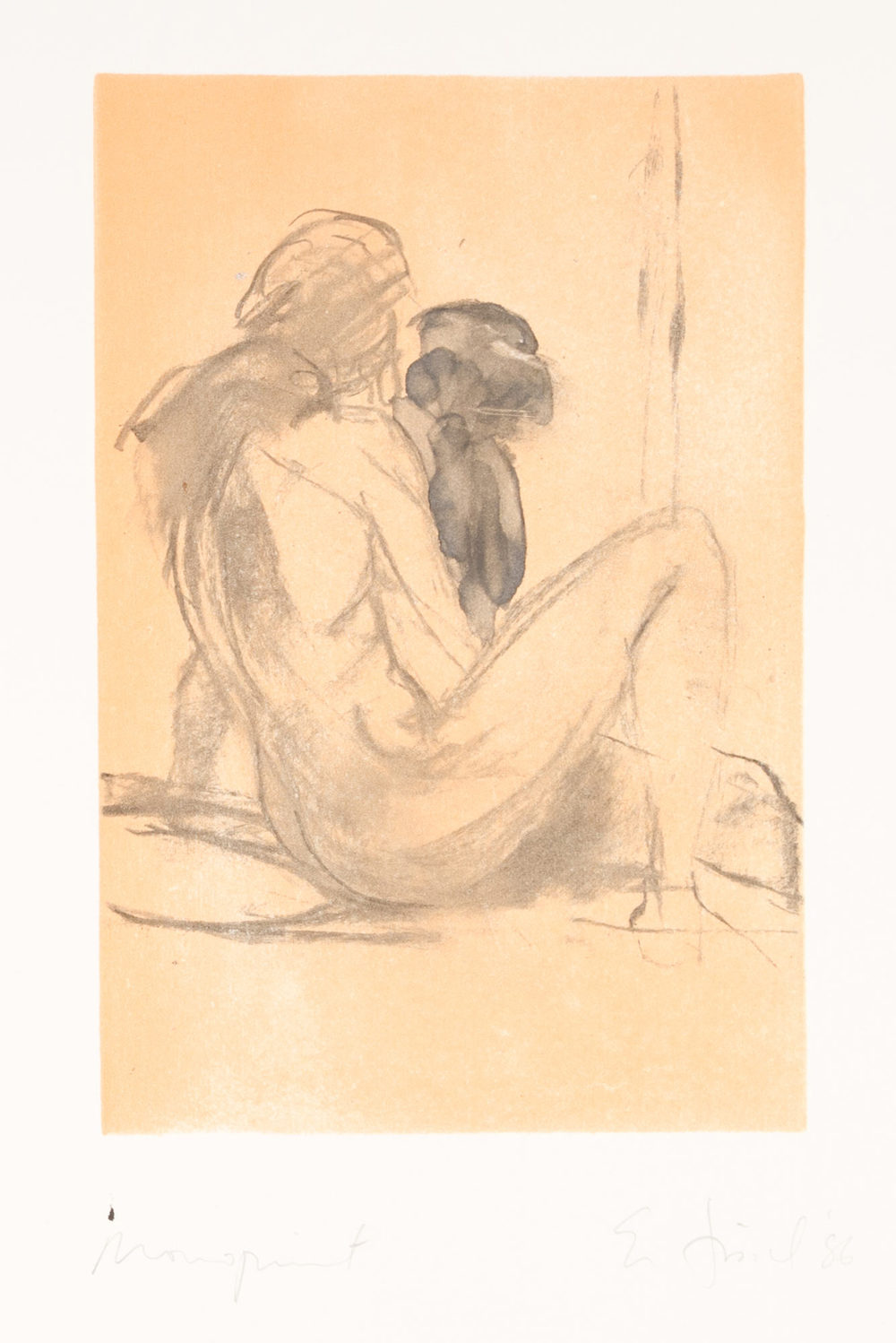 Scenes and Sequences: Untitled (girl sitting), 1986.