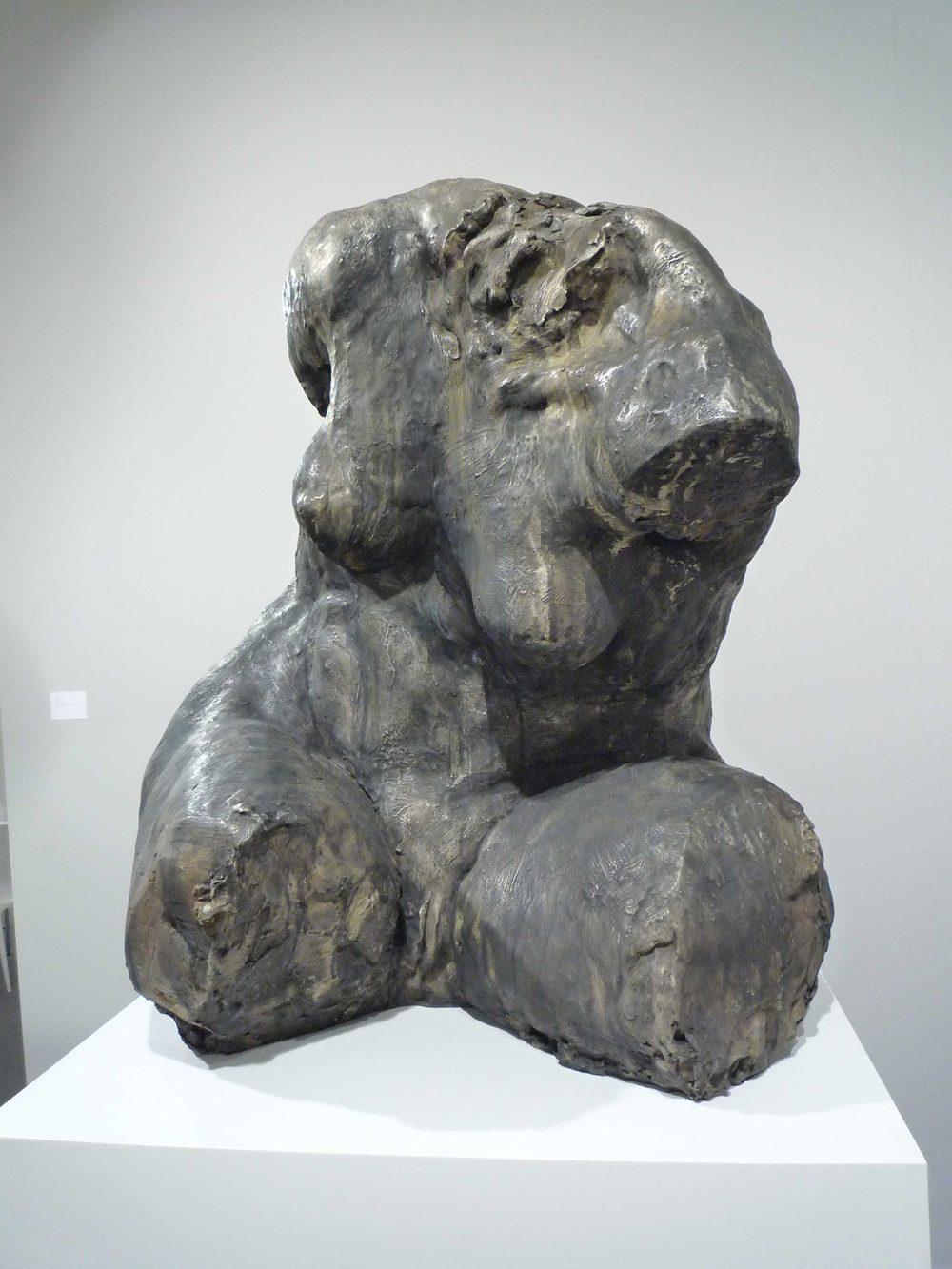 Untitled (Torso), 2010. Bronze 38 x 30 x 30 in.