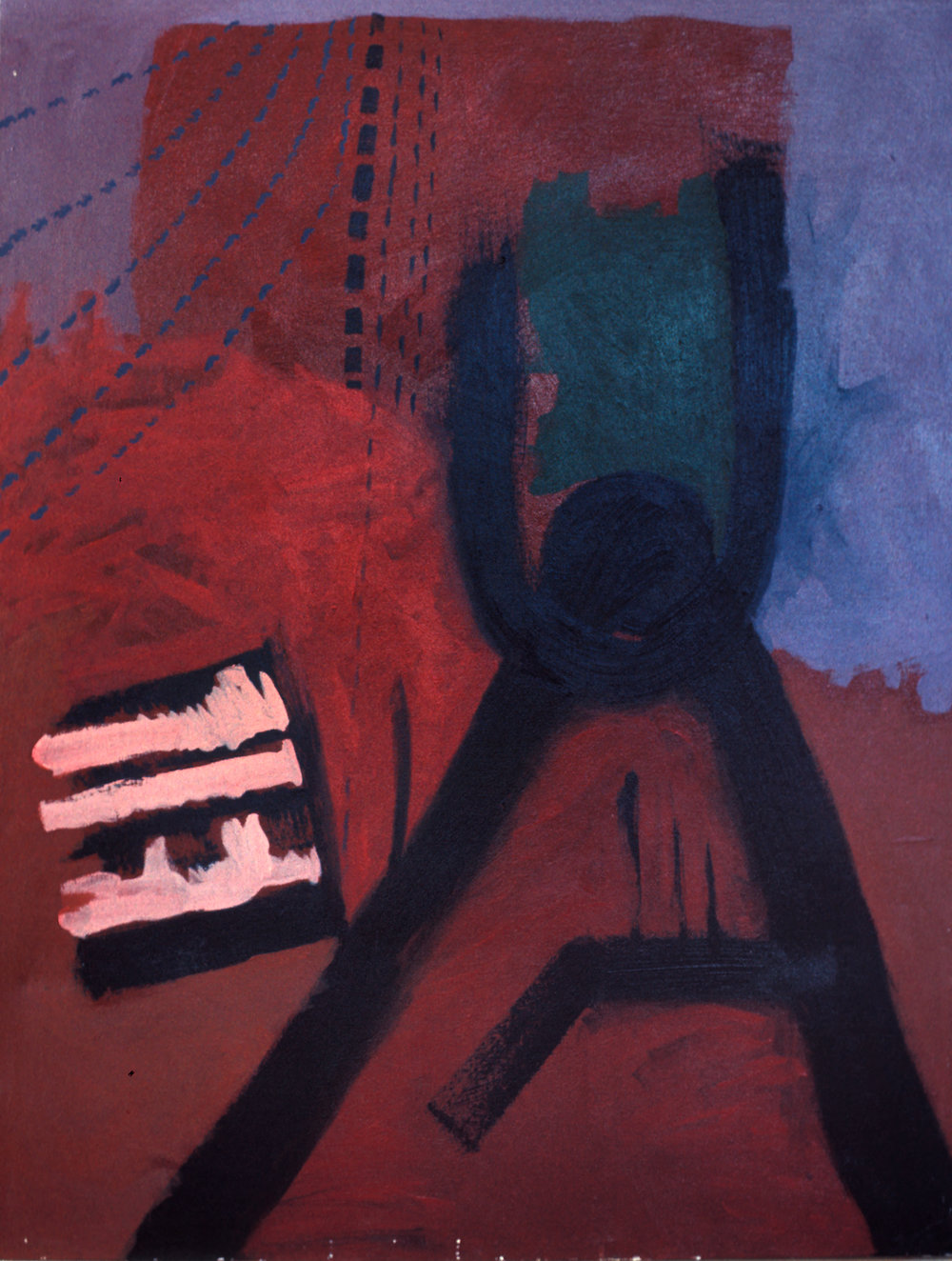 Untitled, 1968, acrylic on canvas