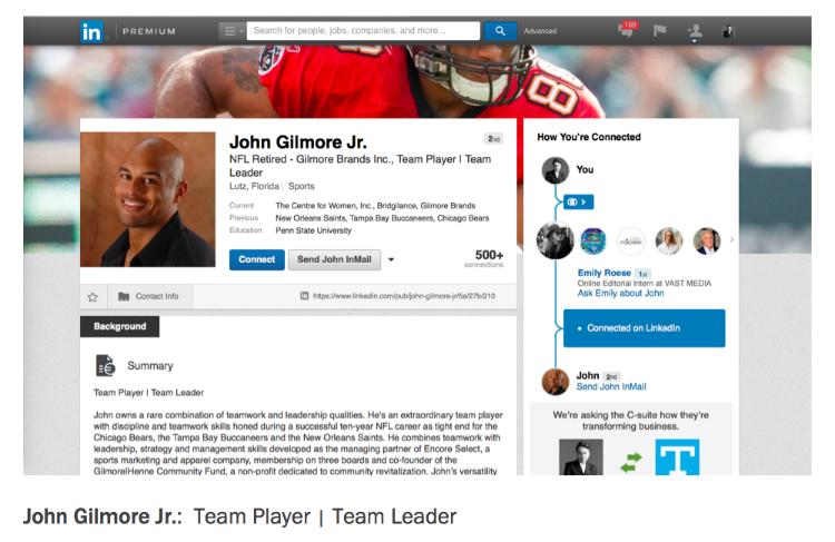 John Gilmore Jr. Encore Select Brand Promise