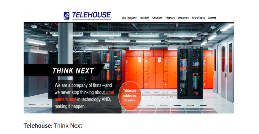 Telehouse Corporate Brand Promise