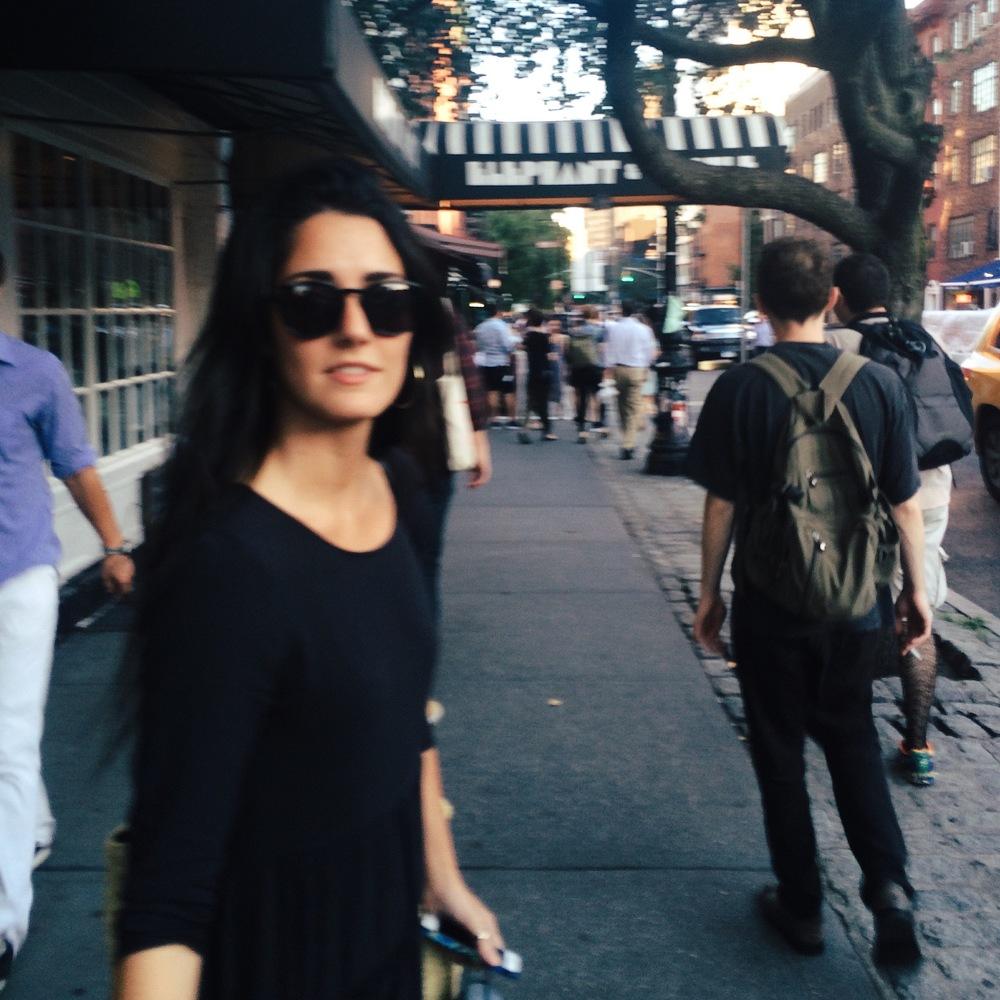 Viki Sanz, Greenwich Village, September 2015