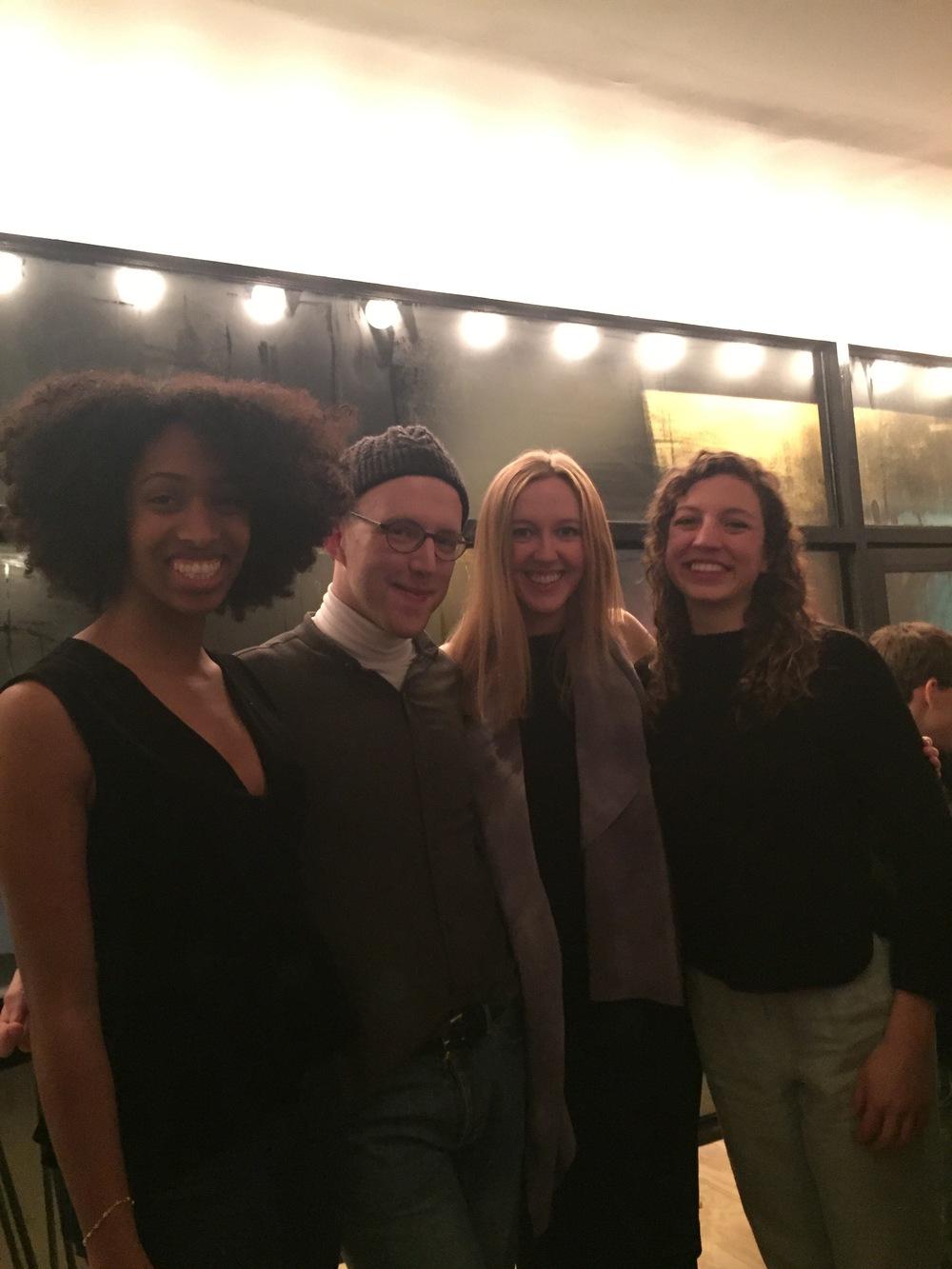 Coordinators:Jordan Bolden, Will Frazier, Victoria Kornick, and Jessie Marion Modi