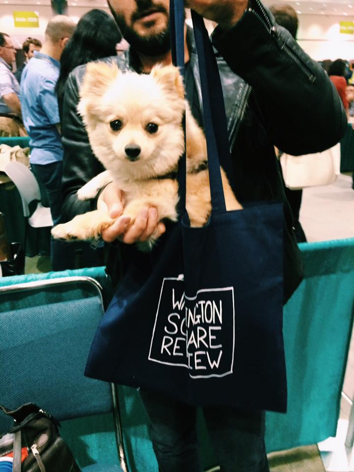 $5 tote, extra for the pup.