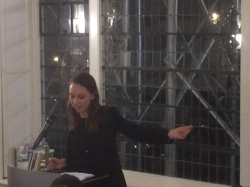 Managing Editor, Lindsey Skillen.