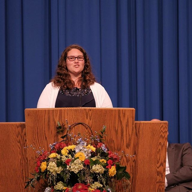 Congratulations to our new 6-8 grade teacher, Melissa Boryca, who was Commissioned by the Michigan Conference of Seventh-day Adventists at Camp Meeting in Cedar Lake, MI this past Sabbath, June 24, 2017.