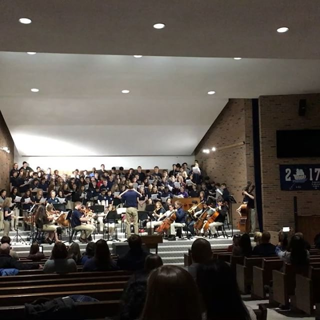 Choral Clinic Concert at GLAA for grades 6-10