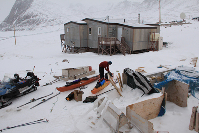 Packing in Grise Fiord