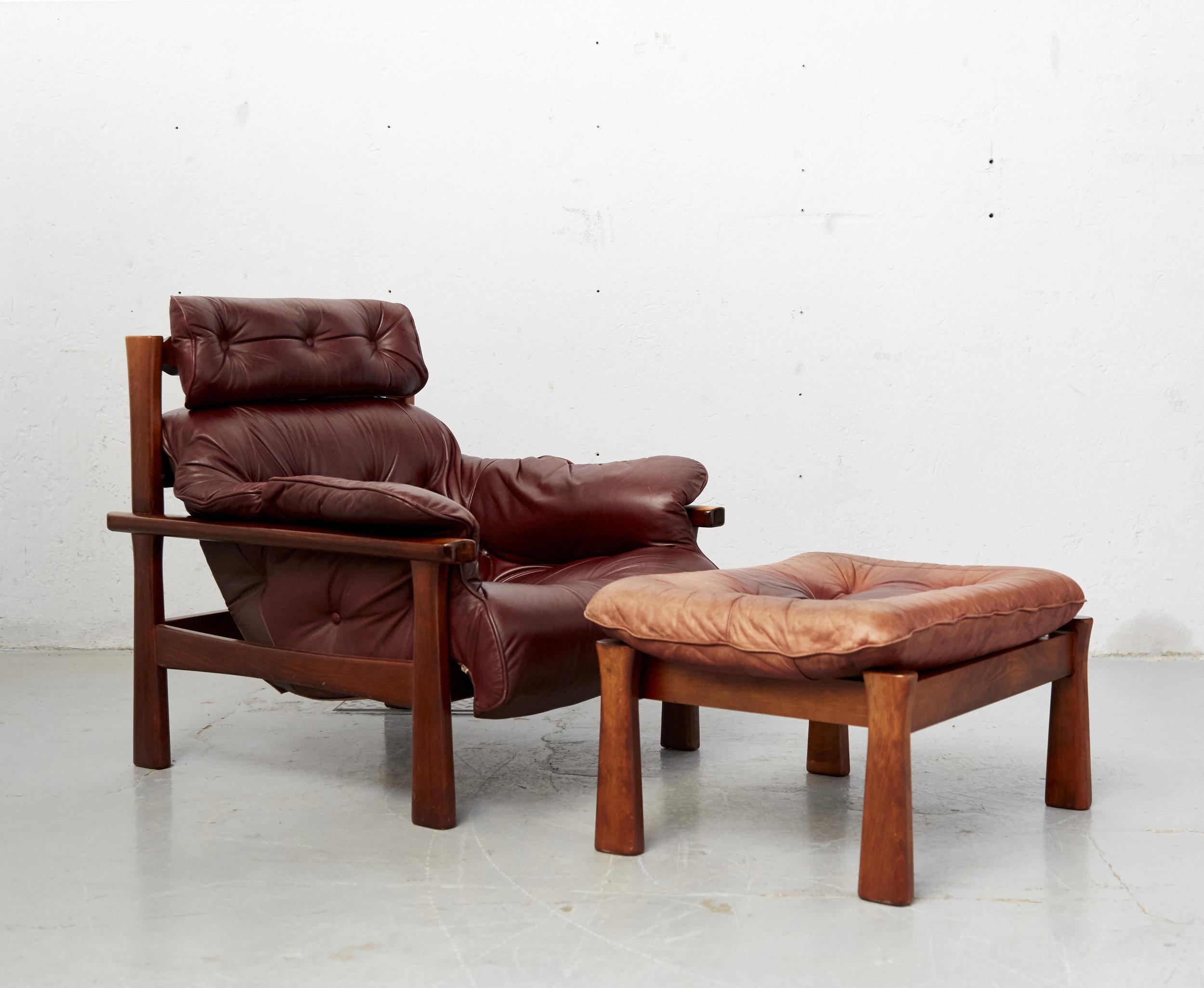 sessel plus ottomane von percival lafer fr lafer furniture company - Bergroer Sessel Und Ottomane