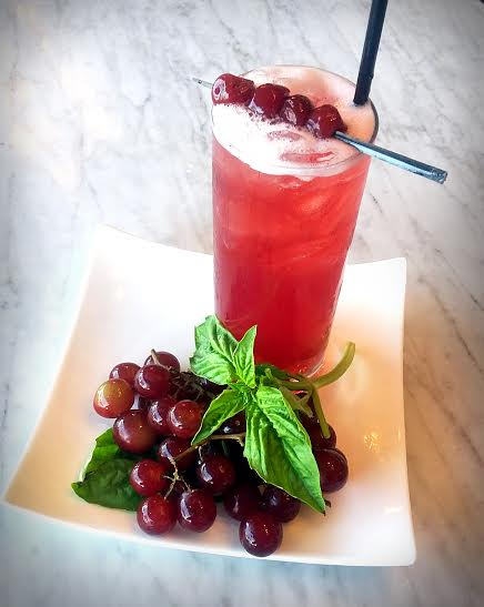 "Cherry Vanilla Shrub named ""Cocktail of the Month""   Will Drink for Travel│July 2016"