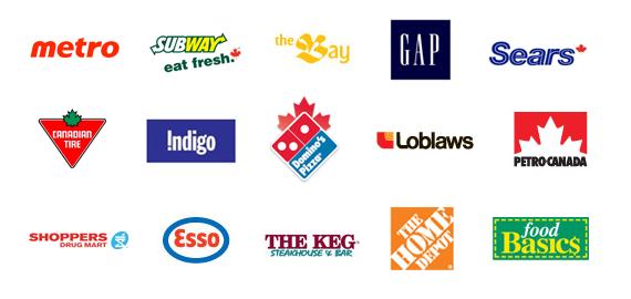 Retailer list