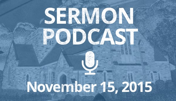 November 15 Podcast