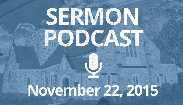 November 22 - Podcast