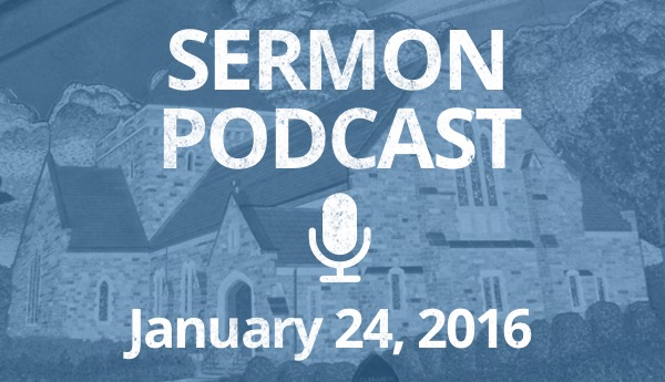January 24 Podcast