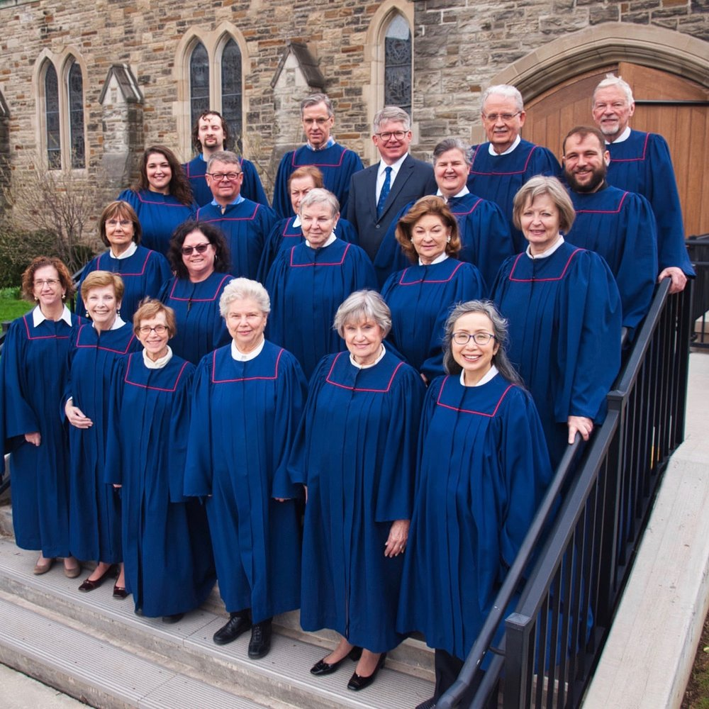 Peter is back row centre with our Choir.