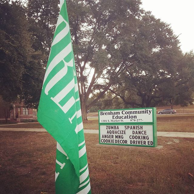 Let's show our Brenham pride today! #IChooseBrenham
