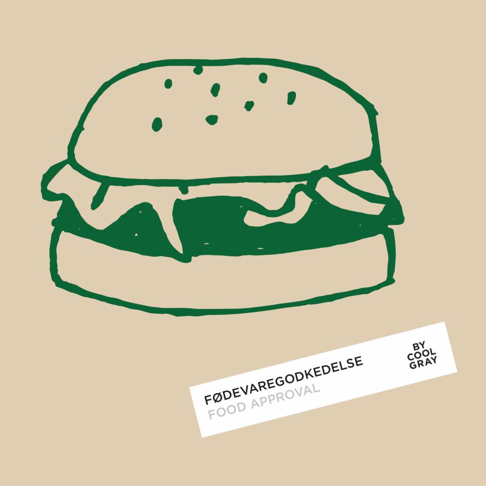Grøn profil grafik (Cool Gray)