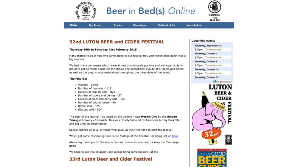 Luton Beer Festival