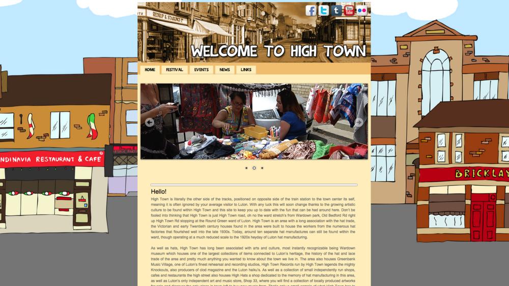 High Town Community Website