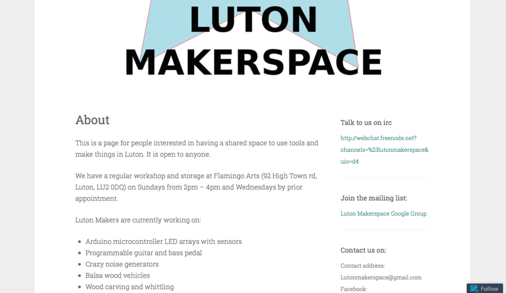 Luton Makerspace