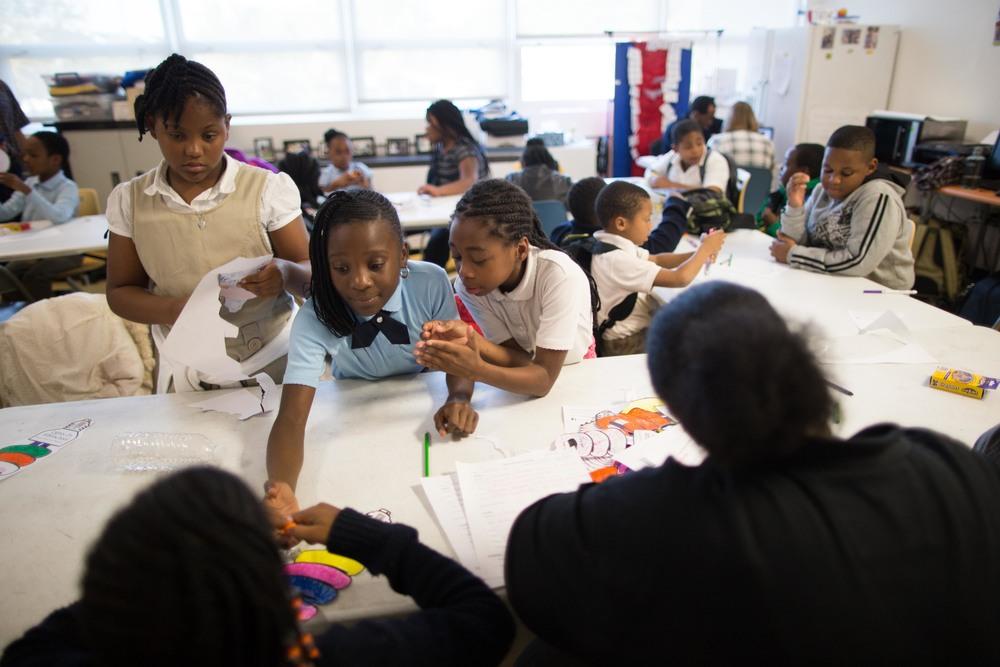 Kids at U.S. Dream Academy