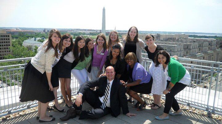 Student Activities center staff, 2011