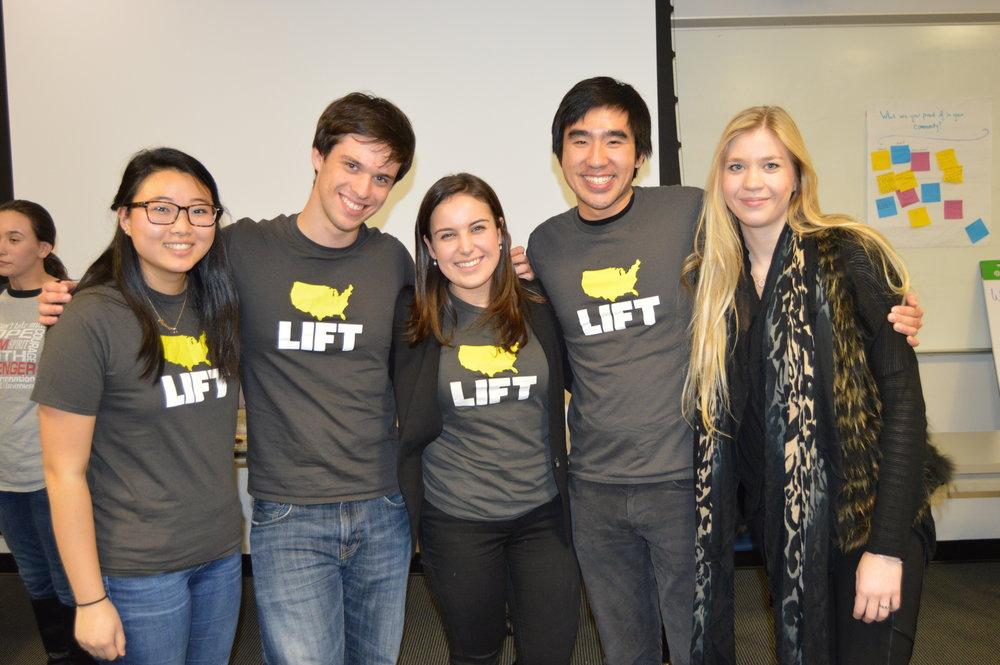 The 15/16 LIFT engageDC Team