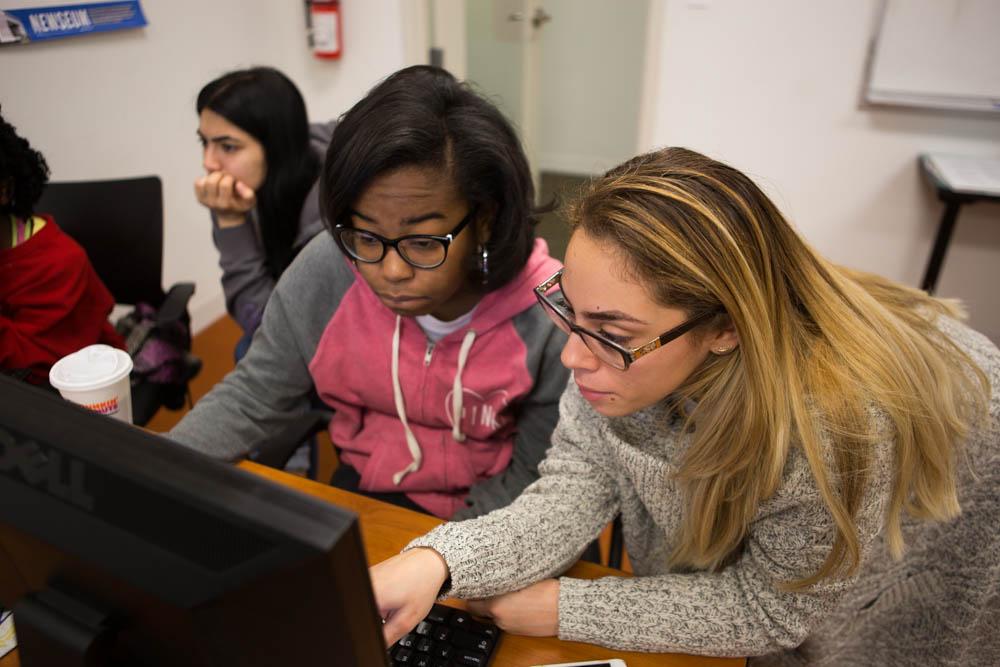 Volunteers at YWCA