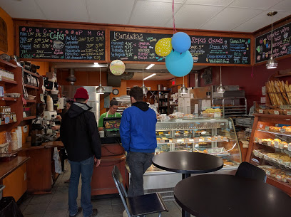 ($) Boulangerie les Co'pains D'abord - 418 Rachel Street E.Bakery and coffee shop