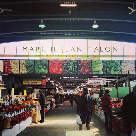 - Jean-Talon Market(a walk on St-Laurent Street through Little Italy)