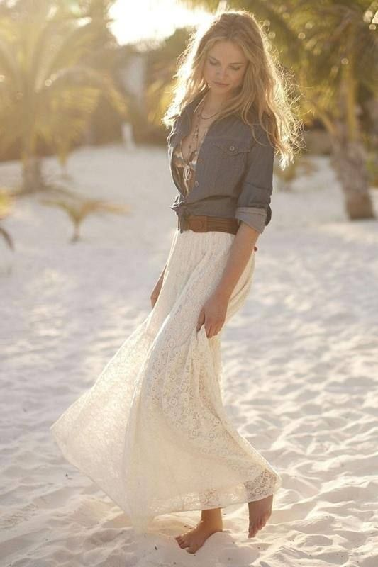 19-beach-bride-in-a-boho-lace-dress-and-a-chambray-shirt-with-a-belt.jpg