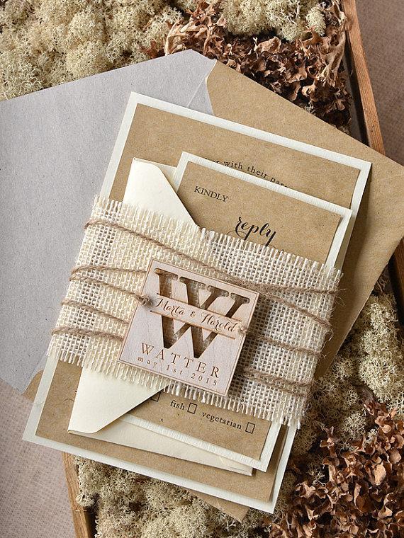 custom-listing-20-rustic-wedding-invitation-burlap-wedding-invitations-engraved-wedding-invitation-eco-friendly-4lovepolkadots.jpg