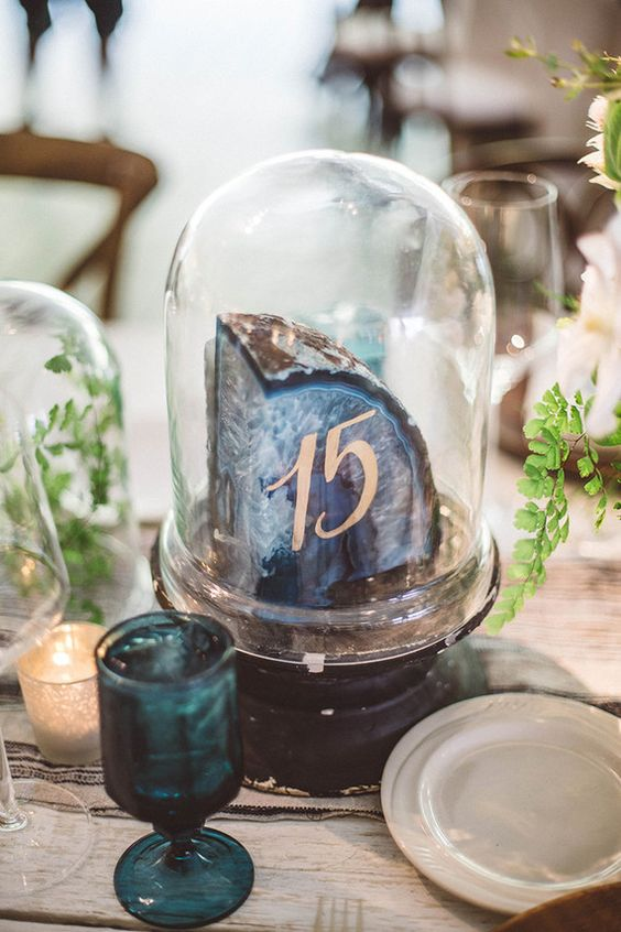 08-rock-table-number-in-a-cloche-looks-cool-and-original.jpg
