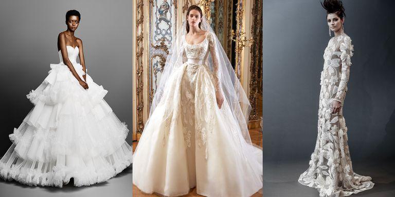 Vestido de novia boda real 2019