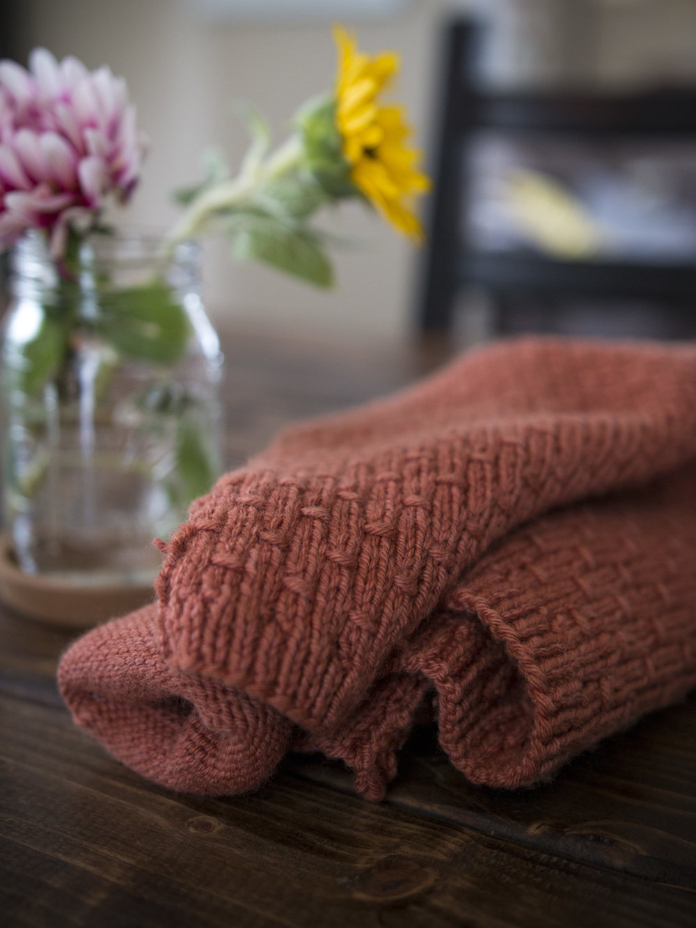 Carl's Cardigan | Eco Merino Wool | Dyed with Madder Root