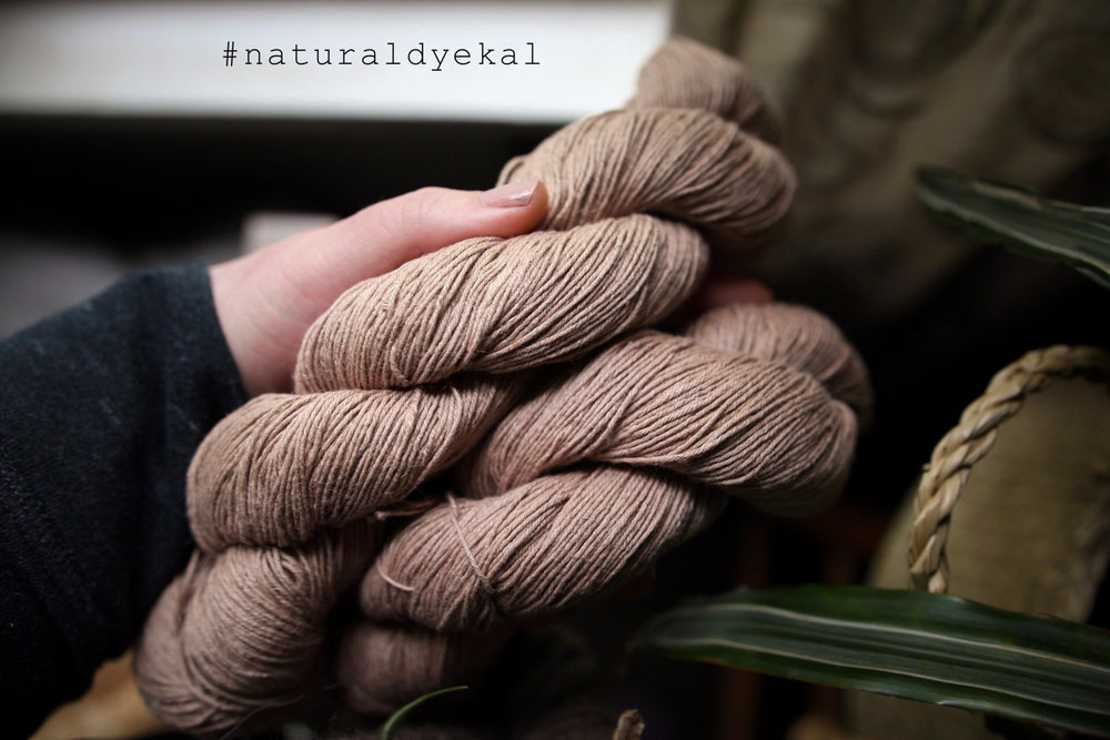 Want to join the Natural Dye Knit Along? Come visit the thread in my Ravelry group  here  for more information.