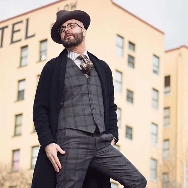 The urban tailor.  Image combining tailoring clothing with urban sportswear, what does it look like? What does it feel like? Image a blog from a real designer who is making luxury goods in the US. Welcome to rafael soto! @rafaelxsoto @ben.seagren @esquire @doverstreetmarketnewyork @gq . . . . . . #rafaelxsoto # suits #urbantailor #luxury #fashion #fashionblogger #fashionshow #fashionista #fashionable #fashionweek #look #cool #streetwear #model #style #musthave #weheartit #gentleman #clothes #clothing #styles #jeans #swagg #guy #man #fresh #dope #menwithclass #menwithstyle #menstyleguide